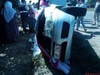 LOKMAN HEKIM - Muğla'da Gelin Arabası Kaza Yaptı Açıklaması 7 Yaralı