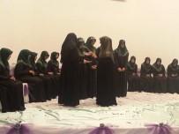 MURAT EREN - Narman Yatılı Kız Kuran Kursu Hafızları Belgelerini Aldı