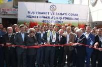 RıFAT HISARCıKLıOĞLU - TOBB Başkanı Hisarcıklıoğlu Muş'ta