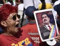 VENEZUELA - Venezuela'da Maduro'ya destek yürüyüşü
