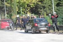 GAZİOSMANPAŞASPOR - Yalova'da Futbol Taraftarları İle Basketbol Taraftarları Birbirine Girdi