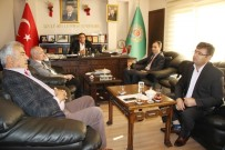 KOÇAK - Aksaray'da Defterdar Ve Vergi Dairesi Müdüründen Ziyaretler