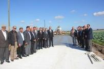 HACI İBRAHİM TÜRKOĞLU - Bafra'da Beton Yol Çalışmalarına Hız Verildi