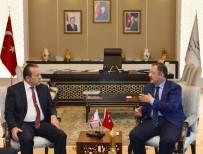 ATIK SU ARITMA TESİSİ - Bakan Özhaseki, KKTC Turizm Ve Çevre Bakanı Fikri Ataoğlu İle Görüştü