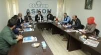 YOL HARITASı - Başkan Genç'ten ASKON'a Ziyaret