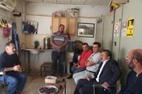 TAŞ OCAĞI - Başkan Tutal Taş Ocağı Personelini Ziyaret Etti
