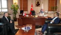 BAŞSAVCı - Başsavcı Çatal'dan Rektör Gür'e Ziyaret