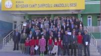 CAHIT ZARIFOĞLU - Beyşehir'de Okullara Beyaz Bayrak Ve Sertifikaları Verildi