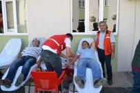 ORMAN İŞLETME MÜDÜRÜ - Bozyazı'da Orman Personeli Kan Bağışında Bulundu