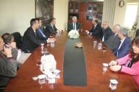 LÜTFI EFIL - Büyükşehir Başkan Vekili Özak, Muhtarları Makamında Ağırladı