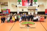 İL MİLLİ EĞİTİM MÜDÜRLÜĞÜ - Dev Adamların Basketbol Aşkı Şehitkamil'de Büyüdü