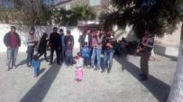KAÇAK GÖÇMEN - Didim'de 21 Göçmen Yakalandı