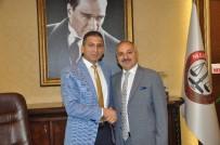 YEREL YÖNETİMLER - Dinçer, Mersin Barosu Başkanı Er'i Ziyaret Etti
