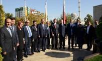 FAZLA MESAİ - Enerji Bakanı Albayrak'tan Başkan Akyürek'e Ziyaret