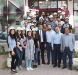 ABDULLAH BAKIR - Geleceğin İnşaat Mühendisleri İMO'da Baret Taktı
