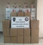 BANDROL - İzmir'de Kaçak İçki Deposuna Polisten Baskın