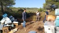 YENIKÖY - Kovanları Bulan Jandarma, Arı Ve Bal Hırsızlarının Peşine Düştü