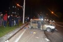 KADER - Malatya'da Trafik Kazası Açıklaması 4 Yaralı