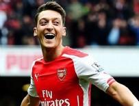 THEO WALCOTT - Mesut Özil'den 'Hat-Trick'