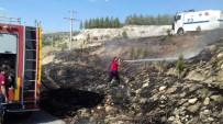 YANGINA MÜDAHALE - Ormanlık Alanda Yangın Çıktı