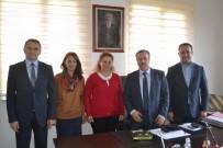 İNGILTERE - Proje Ekibinden Lüleburgaz İlçe Milli Eğitim Müdürü Çetin'e Ziyaret