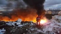 YANGINA MÜDAHALE - Samsun'da Korkutan Yangın