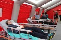İL SAĞLIK MÜDÜRÜ - Sivas'ta Deprem Ve Yangın Tatbikatı Gerçeğini Aratmadı