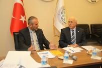 ERCIYES - Slovenya Ankara Büyükelçisi Jukic'ten Başkan Hiçyılmaz'a Ziyaret