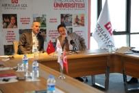 YÜKSEK ÖĞRETİM - Slovenya Büyükelçisi'nden AGÜ'ye Ziyaret