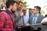 KORSAN TAKSİCİLER - Taksici Esnafı Kaymakam Çetin'le Görüştü