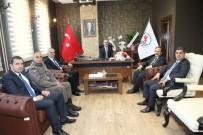 HACI İBRAHİM TÜRKOĞLU - Yeni Dekan Zeybek'e 'Hayır Olsun' Ziyareti