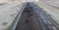 28 ŞUBAT - 3. Havalimanı'nın İlk Asfalt Çalışmaları Havadan Görüntülendi