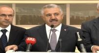 ULAŞTıRMA BAKANLıĞı - Ankara YHT Garında Sona Doğru