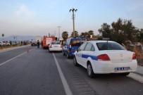 TOPLU TAŞIMA - Balıkesir'de Otomobil Otobüse Arkadan Çarptı Açıklaması 1 Ölü, 1 Yaralı