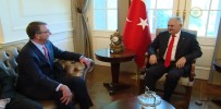 BAŞBAKAN - Başbakan Yıldırım ABD Savunma Bakanıyla Bir Araya Geldi