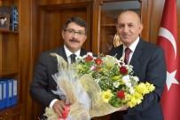 FARUK ÇELİK - Başkan Çelik'ten Yeni Müdüre Hayırlı Olsun Ziyareti