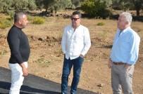 FUTBOL SAHASI - Başkan Kocadon, Mazı'daki Çalışmaları İnceledi