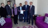 AHMET ÖZEN - Belediye İşçisinin Kaza Sigortası Bedeli Ailesine Verildi