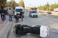 ASKERİ PERSONEL - Bilecik'te Trafik Kazası; 1 Yaralı