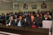 İŞ GÜVENLİĞİ - Büyükşehirin Kula'daki Personeline İş Güvenliği Eğitimi Verildi