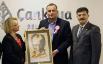 MUHTARLAR KONFEDERASYONU - Çankaya Belediye Başkanı Taşdelen, Türkiye Muhtarlar Konfederasyonunu Konuk Etti