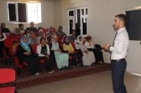 DİYETİSYEN - Cizre'de Kadın Kursiyerlere Yaşlıların Bakımı Semineri Verildi