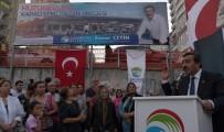 SOSYAL BELEDİYECİLİK - Çukurova'da Yeni Semt Pazarının Temeli Atıldı