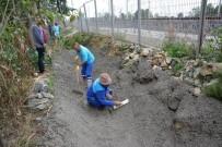 Derbent'te Trapez Kanal Çalışması