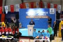 TEVFIK GÖKSU - Esenler, 2 Bin 16 Metre Türk Bayrağı İle Rekor Kırmaya Hazırlanıyor