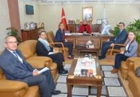 KAN BAĞıŞı - Eskişehir Kızılay Kan Bağış Merkezinden İl Müdürü Durmuş'a Ziyaret