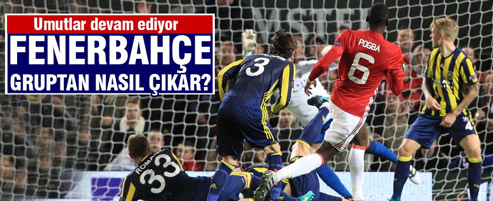 Fenerbahçe nasıl gruptan çıkar