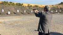 VALİ YARDIMCISI - Gazeteciler Silahları Hedef Tahtalarına Ateşledi