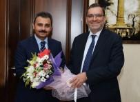 ALI GÖKÇE - Halk Bankası Genel Müdürü'nden Başkan Külcü'ye Ziyaret