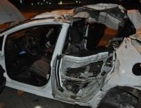 İnegöl'de feci kaza: 4 genç hayatını kaybetti